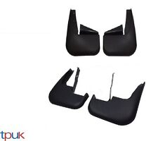 FORD TRANSIT MK6 / 7 FRONT & REAR MUDFLAPS FULL SET MUD FLAP