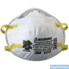 160 pc 3M 8210 Dust Mask Respirator NIOSH approved N95