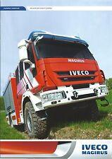 Fire Equipment Brochure - Iveco Magirus - Medium Heavy Pumper Trucks  (DB234)