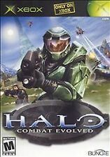 HALO: COMBAT EVOLVED,  -  (XBOX, 2001) - W/Booklet