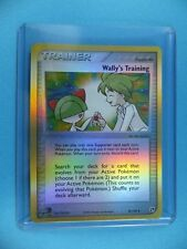 WALLY'S TRAINING SUPPORTER TRAINER Holo Foil Shiny Pokemon Trading Card P4