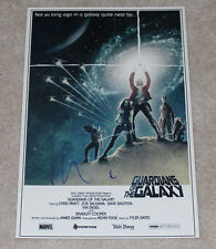 VIN DIESEL SIGNED AUTHENTIC 'GUARDIANS OF THE GALAXY' 12X18 POSTER PHOTO w/COA