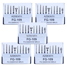 50pcs Dentista Dental Diamond Burs Drill Porcelain Preparation/Repair Kit FG-106