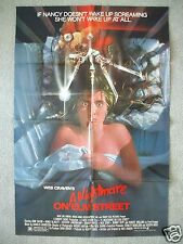 A NIGHTMARE ON ELM STREET 1984 ORIGINAL MOVIE POSTER FRED KRUEGER HALLOWEEN NM-M