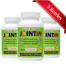 Halal Joint & Osteoarthritis Relief (120 C - Made in USA by Healthy Bio-Vitamins