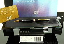Montblanc 165G Black/Gold Mech. Pencil  0.7m  Brand New Old Stock!! W/EXTRAS!!
