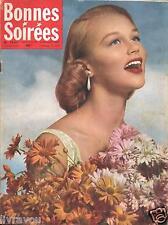 ▬► Bonnes Soirées 1847 de 1957 ANDRÉ CLAVEAU_SOPHIA LOREN