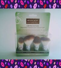 EcoTools Make-Up Kabuki Brush Set of 4/ Concealer, Bronze, Contour , Buff