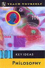 Philosophy: Teach Yourself (Teach Yourself 101 Key Ideas),GOOD Book