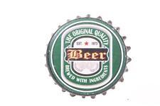 Möbelknopf, Knopf, Griff, Knauf im Antik Look Retro Beer grün La Finesse