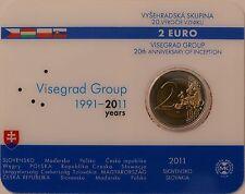 2 Euro commémorative de Slovaquie 2011 Brillant Universel (BU) - Groupe Visegrad