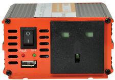 NUOVO MERCURIO 300W 24V a 230V Inverter RETE ELETTRICA CONVERTITORE 24 VOLT CAMION FURGONE