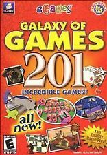 Galaxy of Games: 201 Incredible Games (PC, 2002)