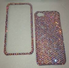 CRYSTAL RARE 100% AB CASE COVER  FOR  IPHONE 6s 6 PLUS Made W SWAROVSKI ELEMENTS