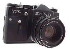 ZENIT TTL SLR Camera With Helios-44M f/2 58mm Lens - H07