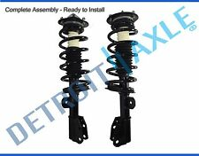 Both (2) NEW Complete Front Strut W/ Spring and Mounts Quick Assembly Chevy GMC