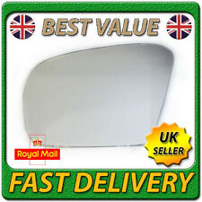 Left Passenger Near Side Convex Wing Mirror Glass for MERCEDES ML W164 2005-2008