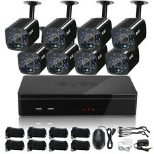 ELEC 1500TVL 8CH 960H HDMI DVR In/Outdoor Home CCTV Security Camera System