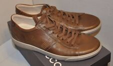 ECCO Men's Gary Tie Sneaker NAVAJO/BROWN  size EU 43  US 9 - 9.5