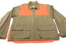 Bushmaster XL Brown Orange Hunting Jacket Cotton Polyester NWOT