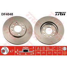 Disque de frein, 1 unités trw df4048