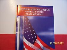 "KNIGHTS OF COLUMBUS - Book - ""Flag Manual"""