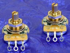 2 CTS 450G Split Shaft 250K Vintage Pots For Three Pickup Curvy Guitars