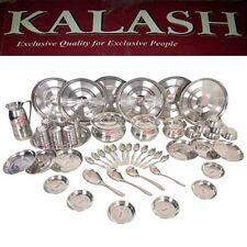 KALASH 51 Pcs 100% Stainless Steel  Dinner Set HEAVY QUALITY