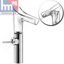 Hansgrohe Axor Starck V Einhebel-Waschtischarmatur 220 aus Kristallglas 12114000