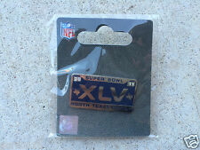 Super Bowl XLV Lapel or hat Pin 2.6.11 Green Bay Packers Pittsburgh Steelers NFL