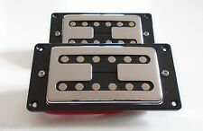 New set HUMBUCKERS Noiseless - contour noir pour GIBSON, FENDER ...