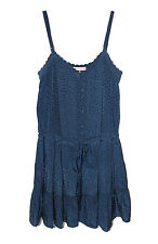 Rebecca Taylor Sunflower Cami Dress in Navy Blue