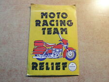 like PANINI : BUSTINA PACKET TUTE POCHETTE : COX Intl MOTO RACING TEAM RELIEF