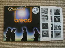 2 Originals of BREAD Same & On the waters LP - 2 LPs - Gatefoldcover - OIS