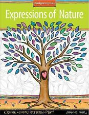 Expressions of Nature : Create, Color, Pattern, Play! by Joanne Fink (2014,...