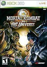 Mortal Kombat vs. DC Universe (Microsoft Xbox 360, 2009)