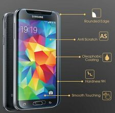 Tempered Glass Screen Protector Plastic Genuine Cover for Samsung Galaxy S5