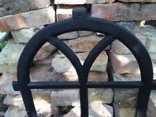 7 PANE VINTAGE CAST IRON METAL WINDOW FRAME INDUSTRIAL - sheds / shepherds huts