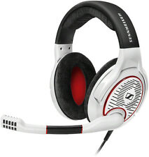 Sennheiser Game One White PC Gaming Headsets Lightweight Comfortable
