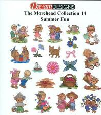 PES Brother Embroidery, Dream Designs Pack / MH 14 Morehead Summer Fun