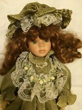 Beautiful collectable Lovely vintage porcelain doll from the Leonardo Collection