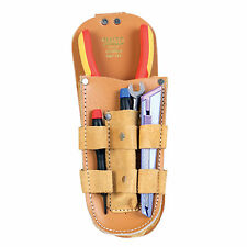 Leather Multi-Purpose Tool Belt Pouch Carpenter Electrician Tool Pocket Bag