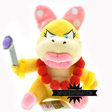SUPER MARIO BROS. WENDY O. KOOPA PELUCHE pupazzo plush bowserotto koopalings new