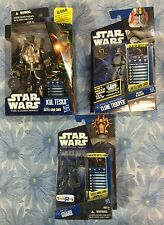 Hasbro Star Wars Toys R Us Exclusive Set Of 3 Figures