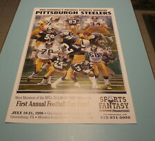 PITTSBURGH STEELERS 1970'S DYNASTY POSTER