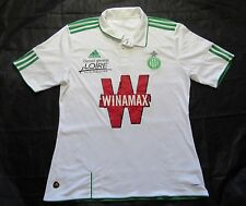 SAINT ST ETIENNE jersey by ADIDAS Away football shirt 2010-2011 White/men/L