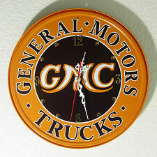 GMC Sign Wall Clock, 11-3/4'' Diameter  - NEW