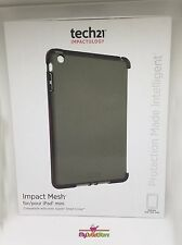 Genuine Tech21 Impact Mesh iPad Mini Smokey Grey Case Cover For Mini 1 2 3 New