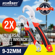 2Pcs Multifunctional Universal Quick Snap'N Grip Adjustable Wrench Spanner Tool