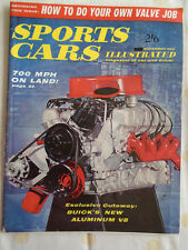 Sports Cars Illustrated Nov 1960 Speedwell GT Sprite, Porsche Carrera GTL